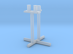 1/100 DKM Schnellboot Bow Bollard Set in Smooth Fine Detail Plastic