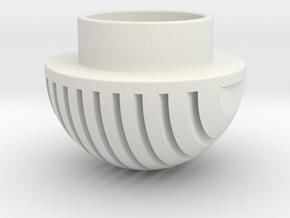 Plates Pommel in White Natural Versatile Plastic