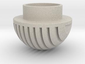 Plates Pommel in Natural Sandstone