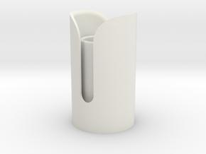 Snips Emitter in White Natural Versatile Plastic