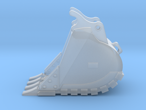 """1:50 36""""Trench bucket for Cat 336D/E in Smooth Fine Detail Plastic"""
