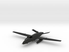 Boeing MQ-25 Stingray in Black Natural Versatile Plastic: 1:200