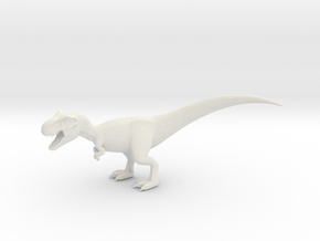 T-Rex V1 in White Natural Versatile Plastic
