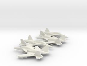 Stavatti SM-47 (w/o landing gears) in White Natural Versatile Plastic: 6mm