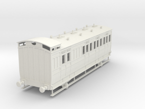 0-32-ner-n-sunderland-brake-2nd-coach in White Natural Versatile Plastic
