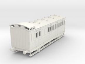 0-76-ner-n-sunderland-brake-2nd-coach in White Natural Versatile Plastic