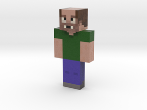 Todd Yamron | Minecraft toy in Natural Full Color Sandstone