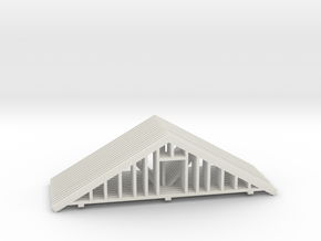 Trusses HO Scale 1-87 in White Natural Versatile Plastic
