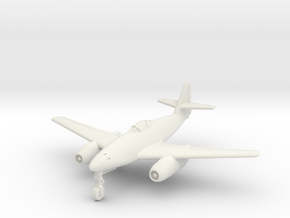 (1:144) Messerschmitt Me 262 C2b Heimatschützer II in White Natural Versatile Plastic