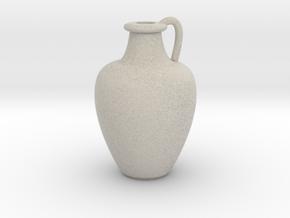 1/12 Scale Vase in Natural Sandstone