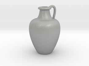 1/12 Scale Vase in Aluminum