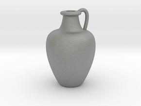 1/12 Scale Vase in Gray PA12