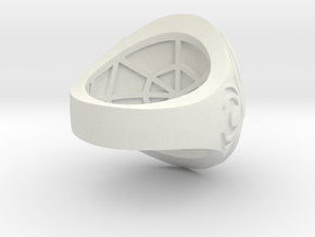 Ring award - capitola engraved in White Natural Versatile Plastic