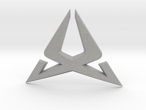 Cupra Steering Wheel Logo Front in Aluminum