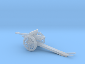 1/100 Scale 4.7 Inch Gun Carriage M1906 in Smooth Fine Detail Plastic