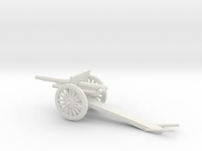 1/48 Scale 4.7 Inch Gun Carriage M1906 in White Natural Versatile Plastic