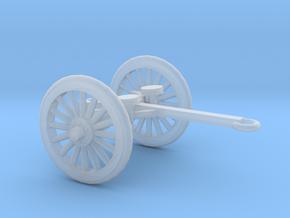 1/72 Scale 4.7 Inch Gun Limber M1905 in Smooth Fine Detail Plastic
