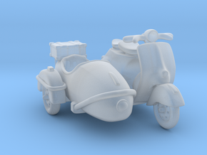 Vespa Sidecar 1:87 HO in Smooth Fine Detail Plastic