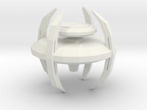 Cardassian Defense Platform in White Natural Versatile Plastic