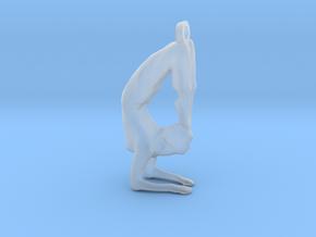 yoga jewelry - Vrischikasana in Smooth Fine Detail Plastic