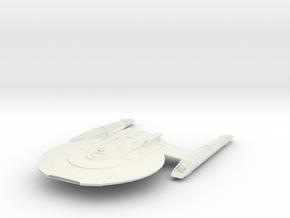 Federation Fox Class  LtCruiser in White Natural Versatile Plastic