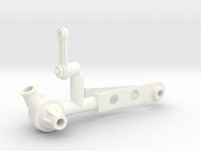 Halibrand steering 1/8 setup in White Processed Versatile Plastic