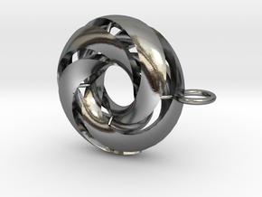 marine in Polished Silver: Medium