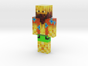TheGamingBlaze2 | Minecraft toy in Natural Full Color Sandstone