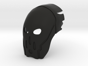 Great Mangai Kanohi Vafaka, Mask of Conjuring in Black Natural Versatile Plastic