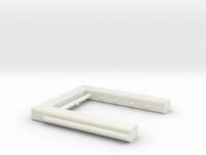 Berieselungsanlage Zugwaschanlage Spur N 1:160 in White Natural Versatile Plastic
