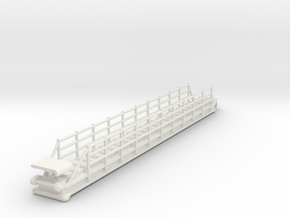 gangway - 1:50 in White Natural Versatile Plastic