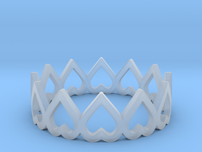 hearth crown ring size 6 in Smoothest Fine Detail Plastic