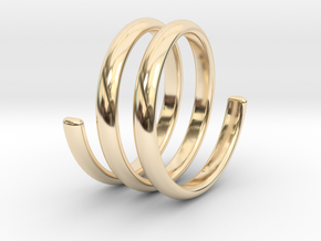 spring ring size 6.5 in 14K Yellow Gold
