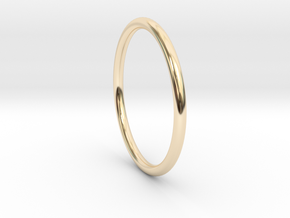 wire ring size 8 in 14K Yellow Gold