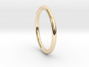 wire ring size 8.5 in 14K Yellow Gold