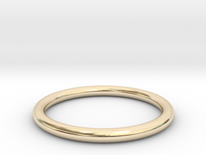 wire ring size 9 in 14K Yellow Gold