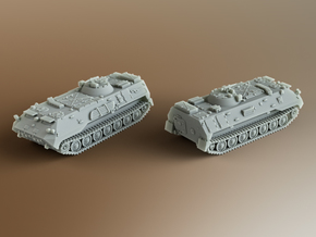 MT-LBu Soviet multi-role amphibious Scale: 1:160 in Smooth Fine Detail Plastic