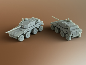 Rooikat 76 South African armoured Scale: 1:144 in Smooth Fine Detail Plastic