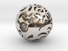 Hollow Sphere 2 in Platinum