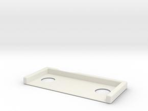 DW_MPF_Shim_05 in White Natural Versatile Plastic