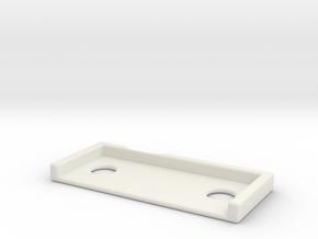 DW_MPF_Shim_10 in White Natural Versatile Plastic