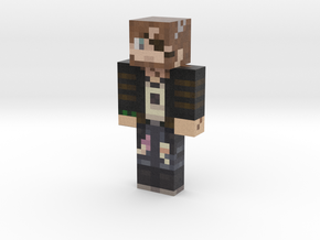 ponchoinsanity | Minecraft toy in Natural Full Color Sandstone
