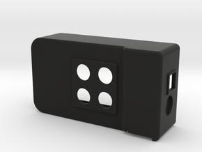 UECUL-T-05-2P-UIC in Black Natural Versatile Plastic