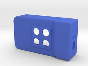 ASCU-T-02-2P-2SURF in Blue Processed Versatile Plastic