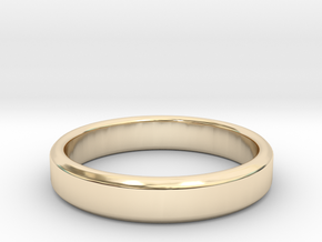 tough guy ring size 8.5 in 14K Yellow Gold