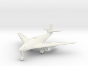 (1:144) Messerschmitt Me 262 HG II Rear-set Engine in White Natural Versatile Plastic