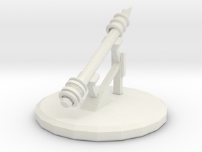 Betrayal At House On The Hill Omen - Spear in White Natural Versatile Plastic