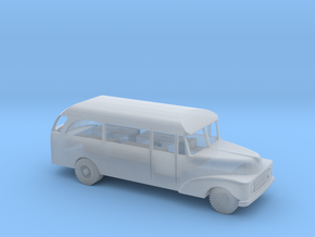 1/100 Scale Ford 1955  MASH Bus in Smooth Fine Detail Plastic