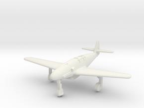 (1:144) Messerschmitt Me 309 XIII/246 (Wheels down in White Natural Versatile Plastic