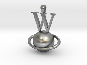 Wplanet-3 in Natural Silver